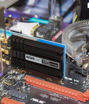 کارت شبکه گیمینگ PCI-E توتولینک با سرعت ۱.۹ گیگابیت و سه آنتن خارجی