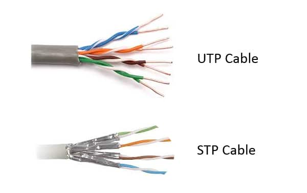 UTP vs STP Cable image - آشنایی با انواع کابل شبکه